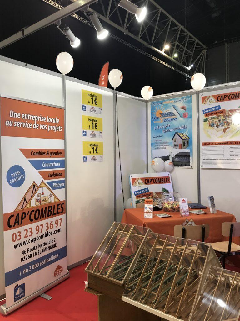 Stand Cap'Combles Foire Expo de Douai